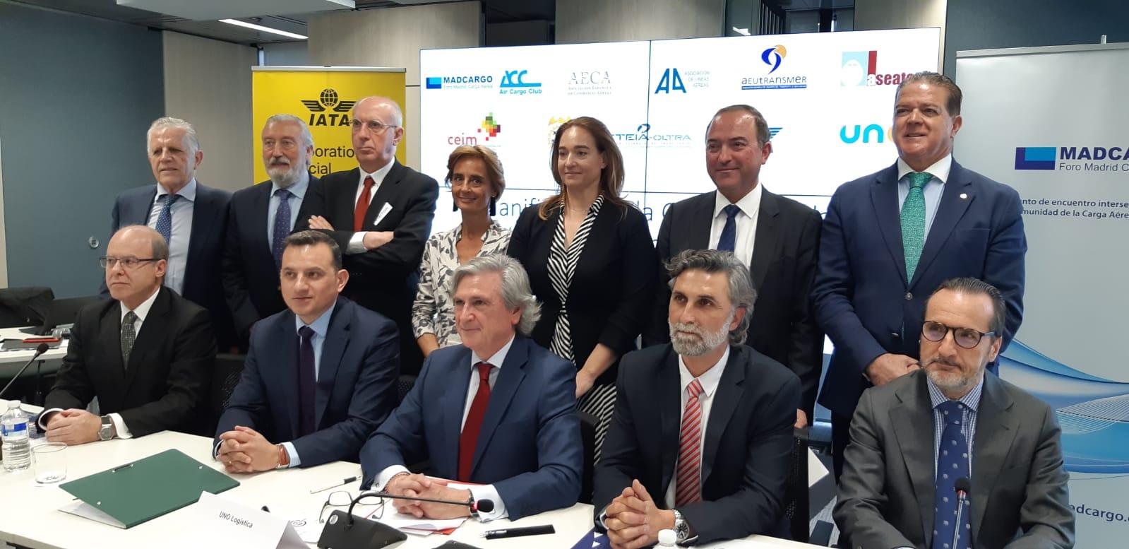 Nota de prensa: Manifiesto por la Competitividad de la Carga Aérea en España